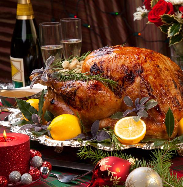 holiday christmas menu